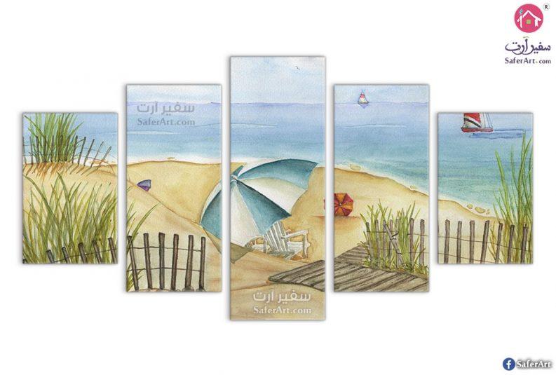 لوحات مودرن للبحر