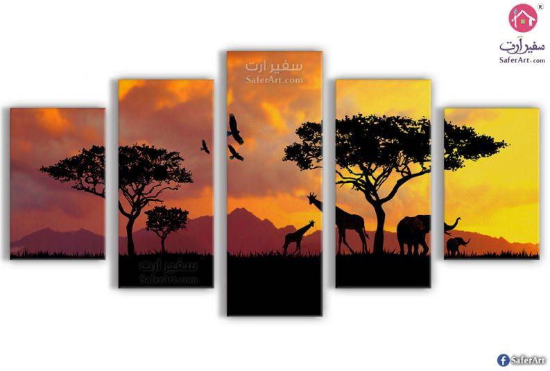لوحات مودرن فى مصر, من البريه الافريقية
