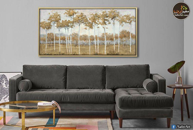 لوحات مودرن للبيع فى مصر اشجار مناظر طبيعيه