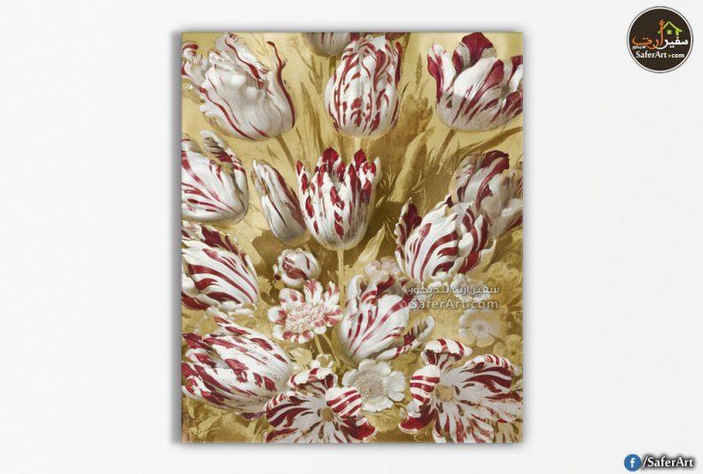 تابلوه مودرن-زهور التوليب