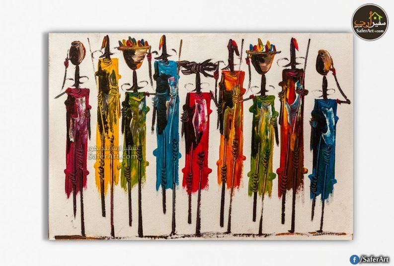 لوحه حائط-افريقيا