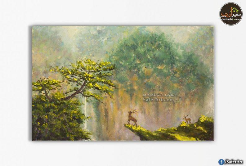 تابلوه مودرن-منظر طبيعي