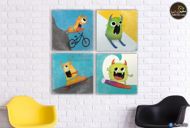 تابلوهات حائط مميزه لغرف الاطفال باحدث التصميمات الكارتونيه