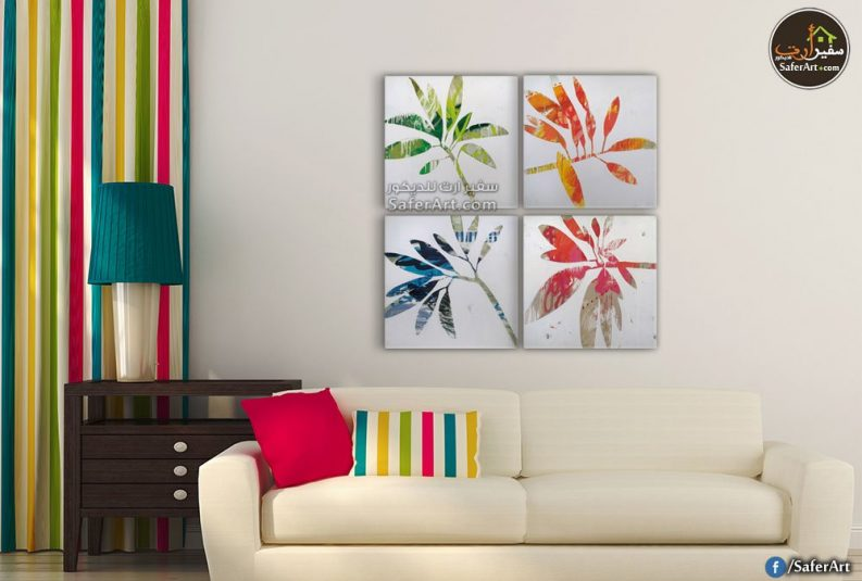 تابلوه مودرن -زهور