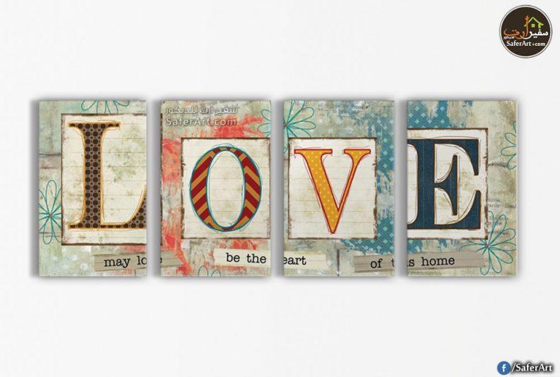 LOVE-تابلوه حائط