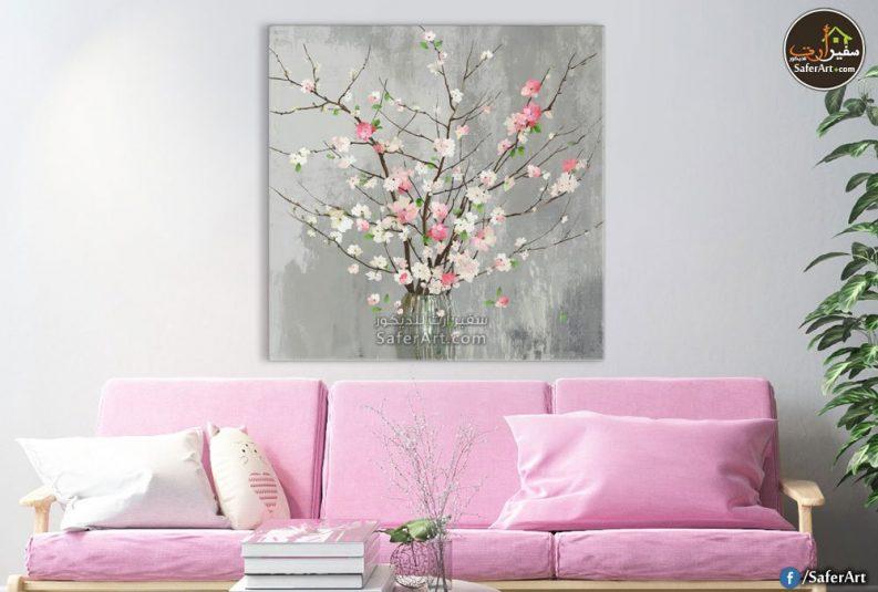 تابلوهات مودرن زهور للبيع