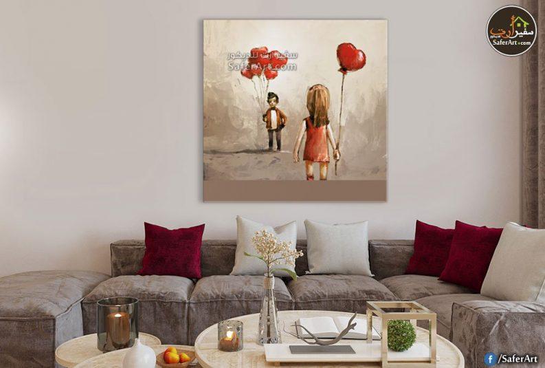 لوحه حائط رومانسيه