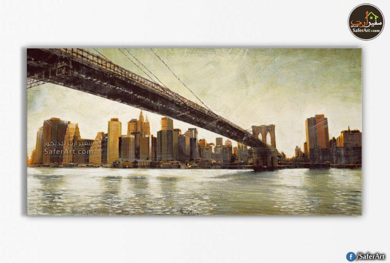 تابلوه مودرن-جسر بروكلين