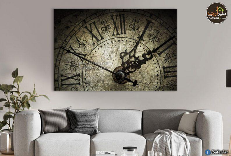 لوحات مودرن لساعات الحائط
