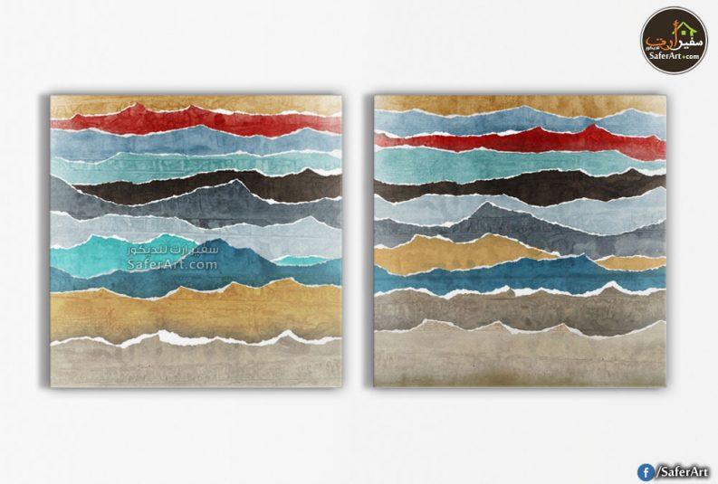لوحات ديكور -تجريديه