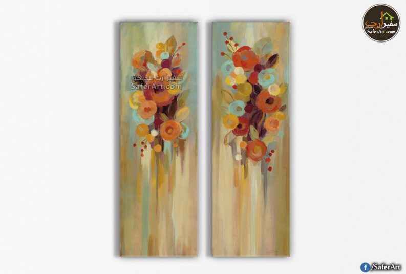 تابلوه زهور وورود