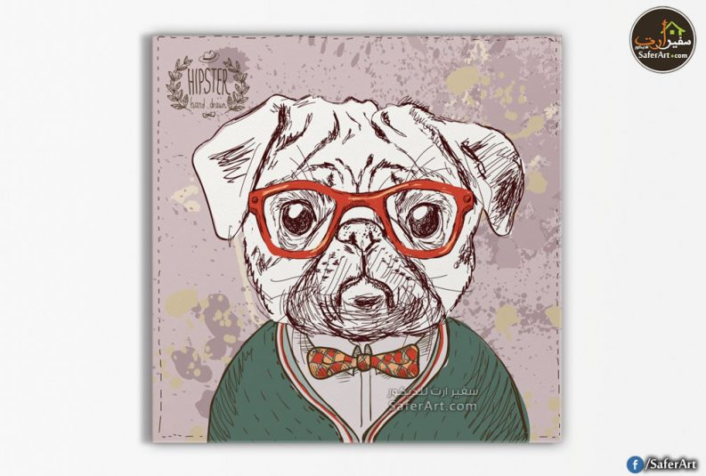 تابلوه كارتوني-كلب