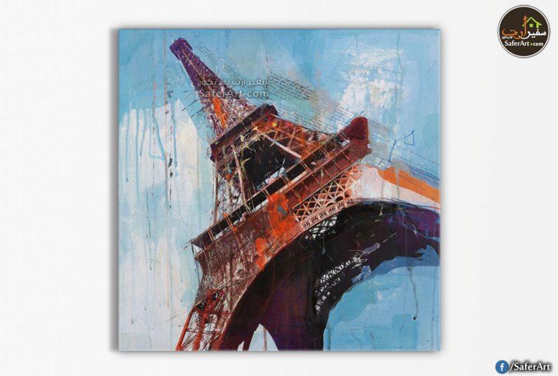 لوحه للديكور-برج ايفل