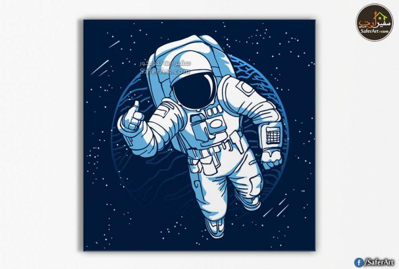 لوحه رائد فضاء