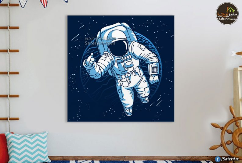 لوحه حائط مودرن لرائد فضاء