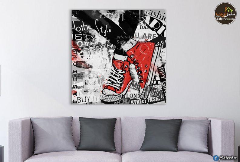 لوحه حائط مودرن لغرف الشباب لتابلوه رجل شخص