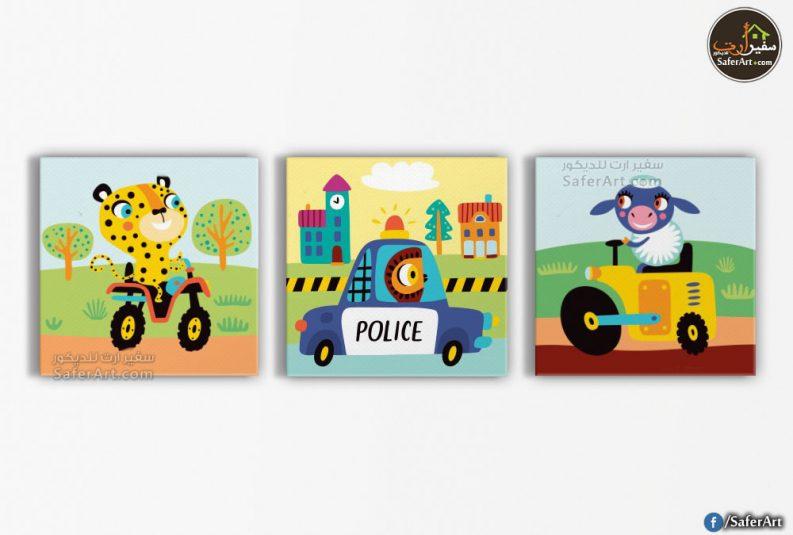 تابلوه مودرن-رسومات اطفال