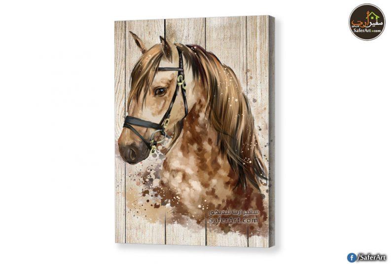 تابلوه حصان بنى