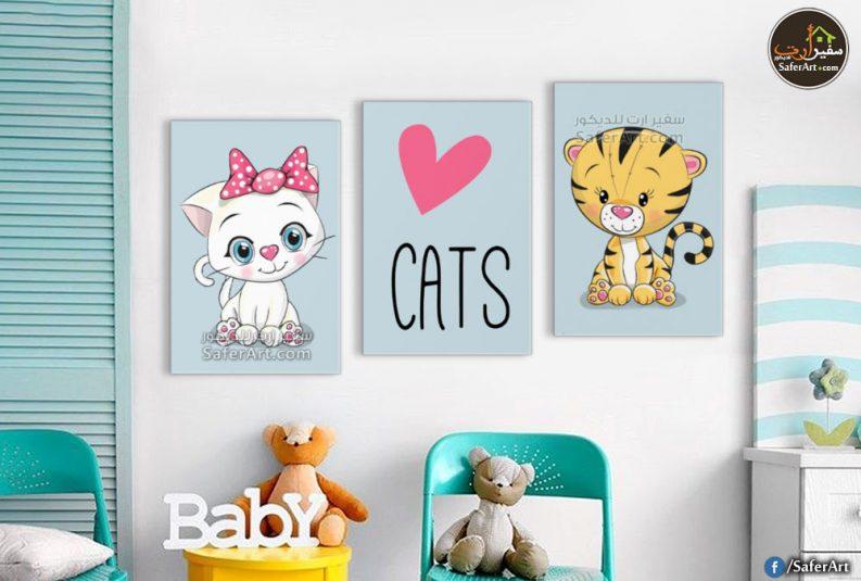 تابلوهات مودرن كيوت لغرف البنات والاطفال لقطه