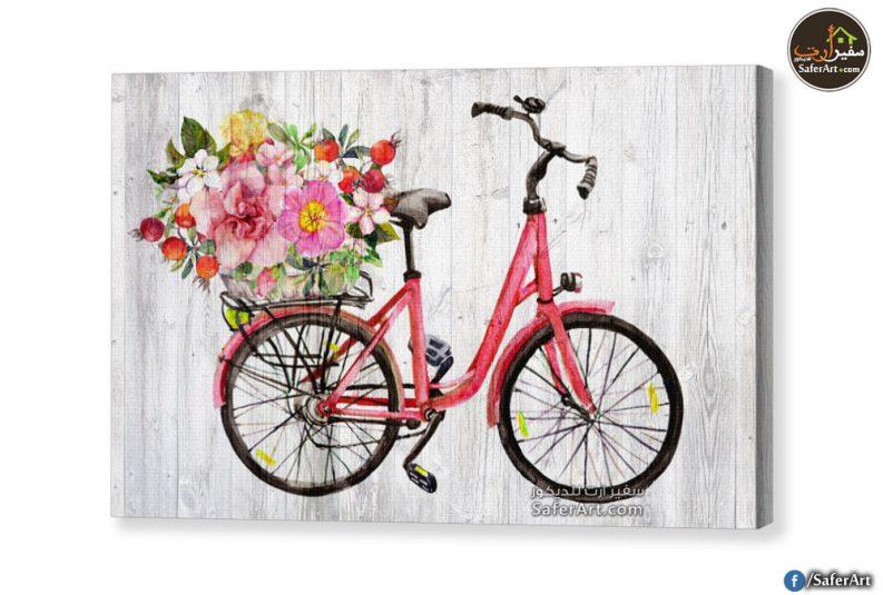 لوحه دراجه بينك