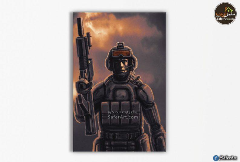 تابلوه مودرن-جندي