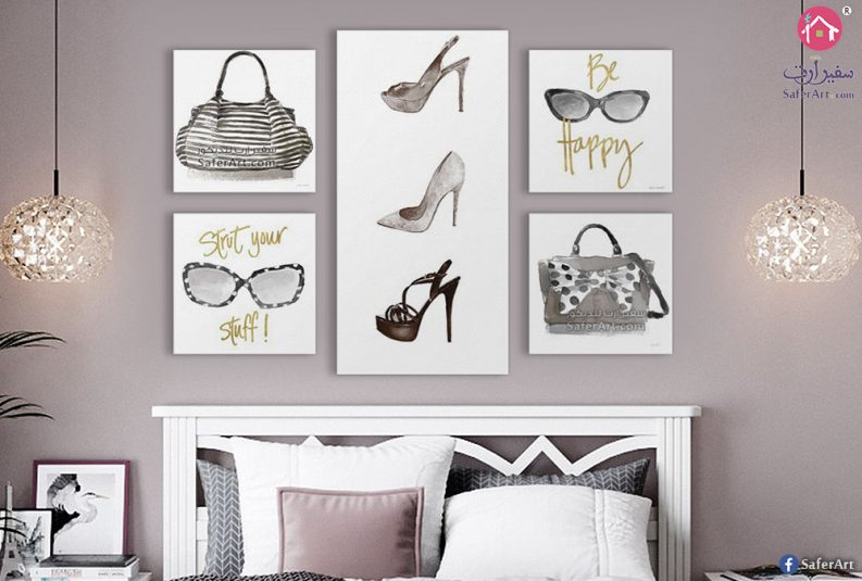 لوحات حائط و تابلوهات لغرف البنات