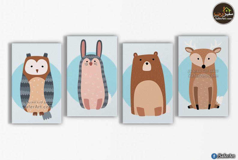 رسومات حيوانات للاطفال