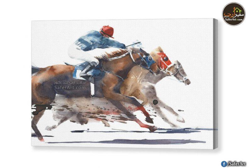 تابلوه-سباق خيول