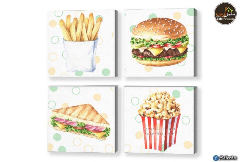 لوحات اطعمه للمطابخ