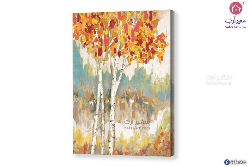 تابلوه-اشجار الغابات