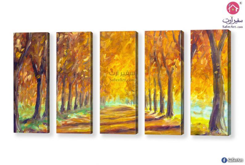 اشجار الغابه-صفراء