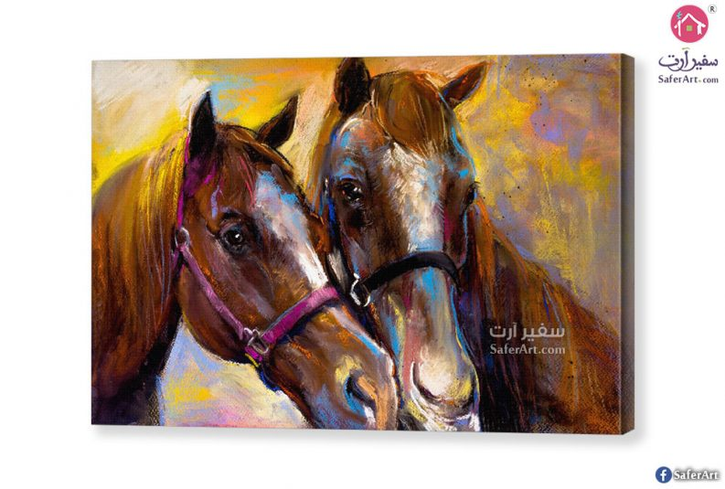 تابلوه مودرن-حصان