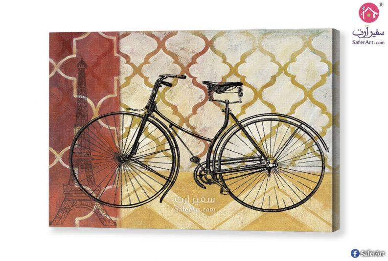 تابلوه مودرن دراجه