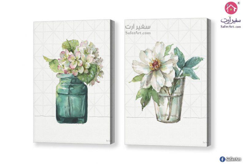 زهورو و ورود بيضاء