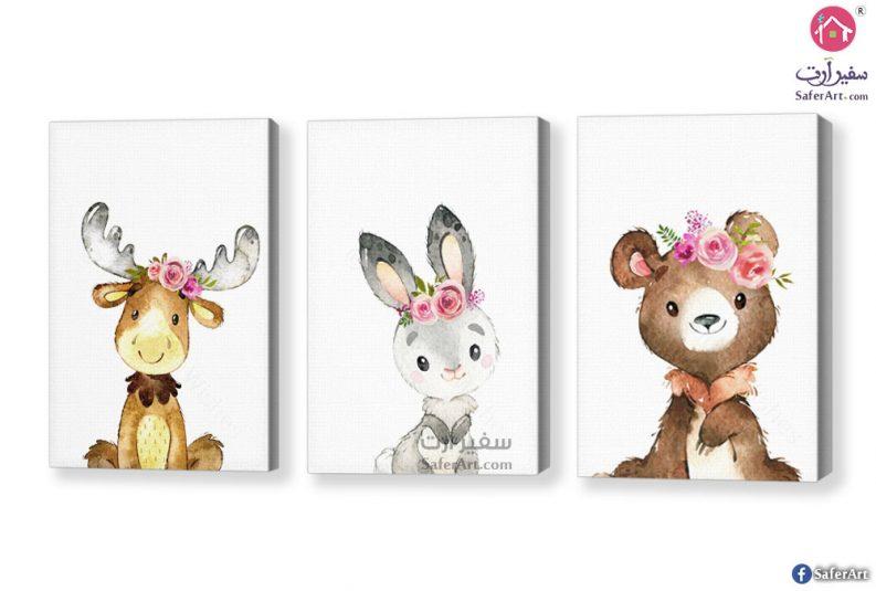 لوحات حيوانات للاطفال