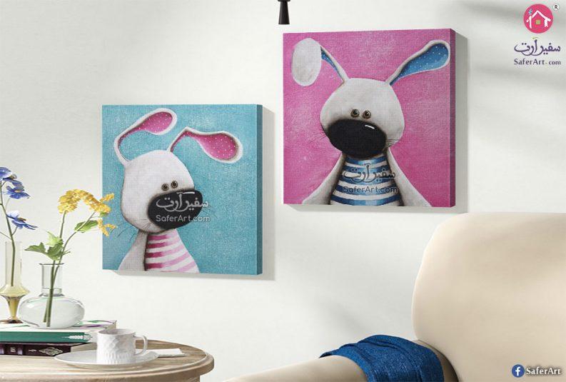Bunny تابلوه مميز لاشهر كرتون محبب لدى الاطفال