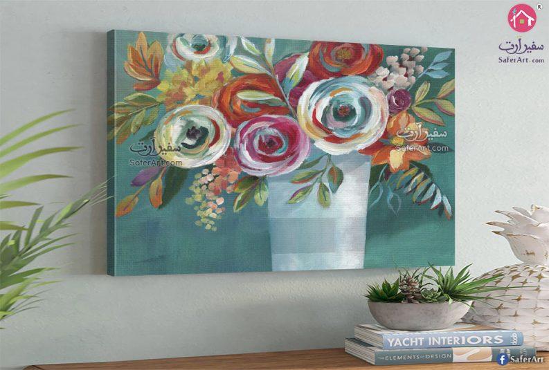 مجموعه من الزهور والورود