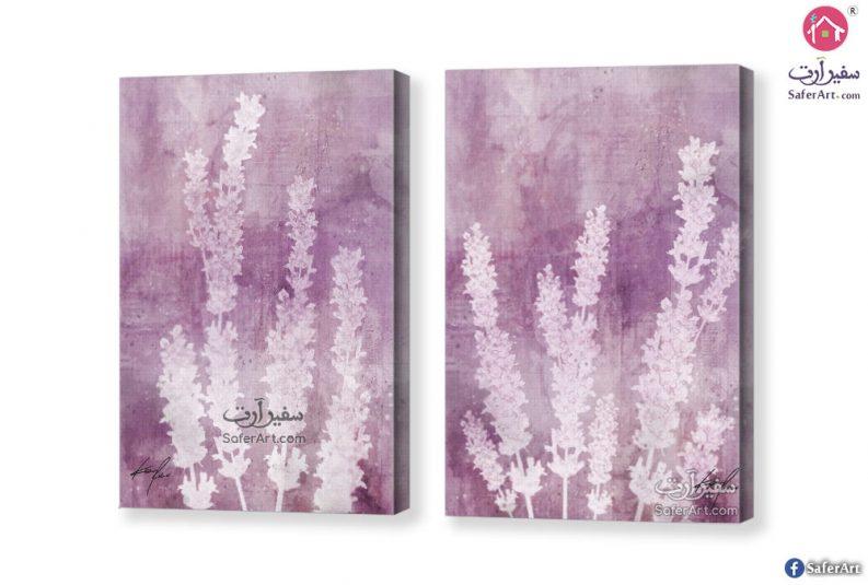 لوحه – زهور اللافندر