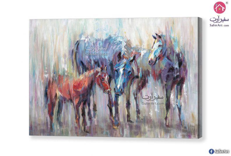 لوحات فنية – خيول