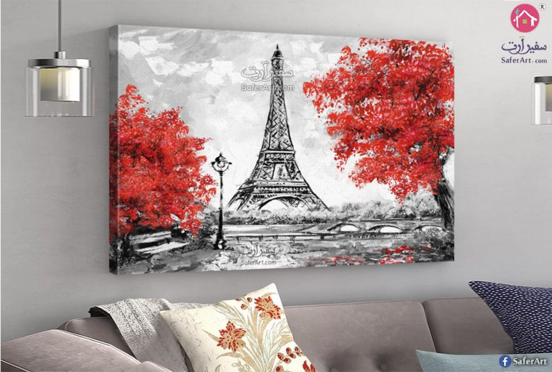 تابلوه مودرن -لوحه حائط باريس لبرج ايفل