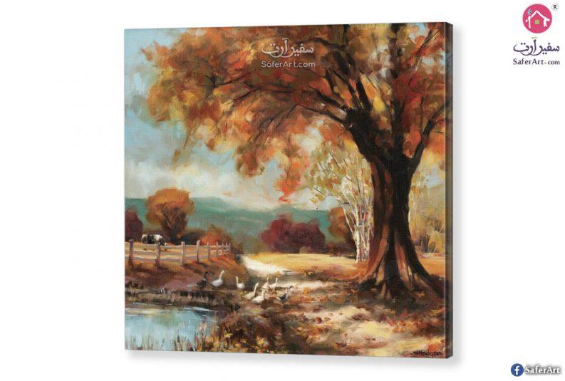 لوحه – اشجار الخريف