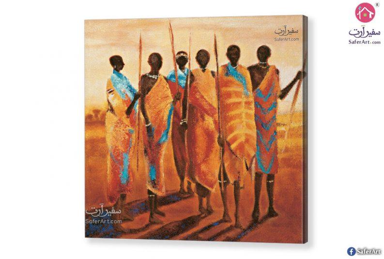 تابلوه مودرن افريقي