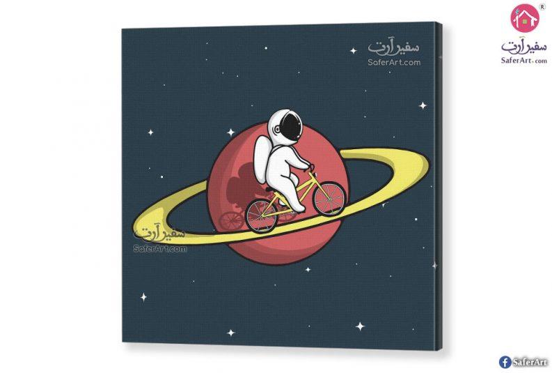 رسومات اطفال – رائد فضاء