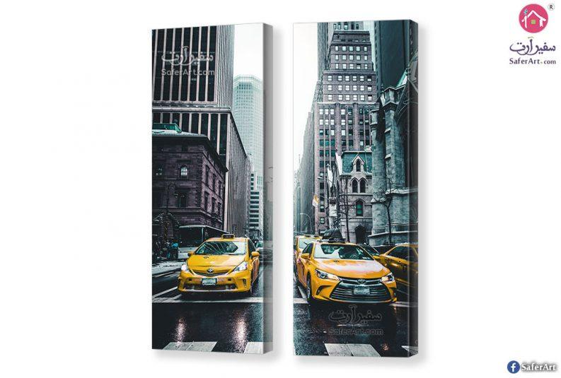 تابلوه مدينة نيويورك