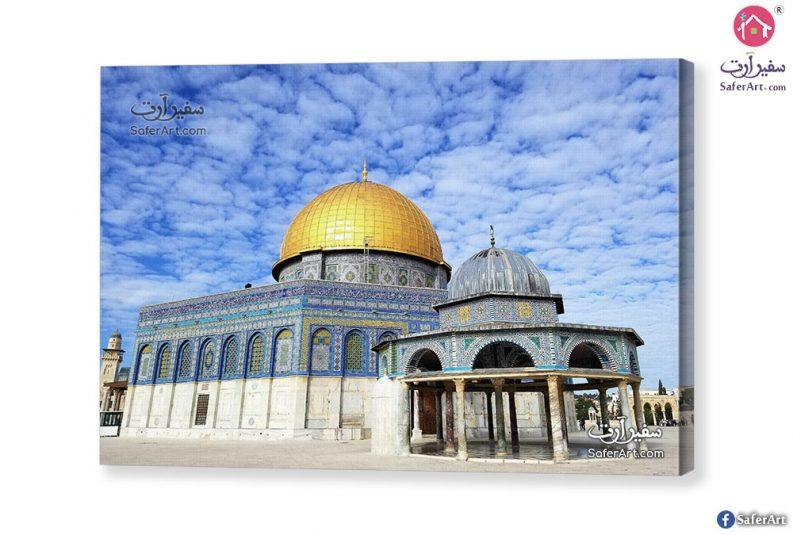 لوحه مسجد قبة الصخره