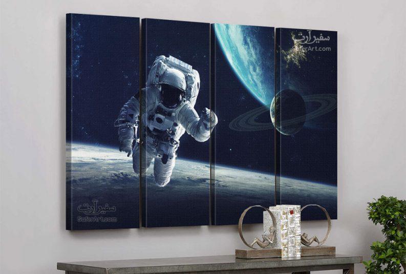 لوحه مودرن لرائد الفضاء
