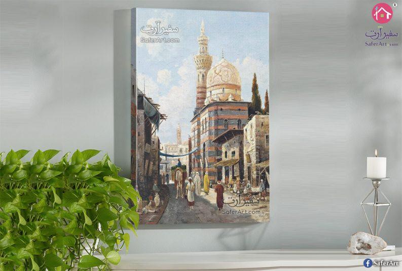 تابلوه مودرن - شوارع القاهره