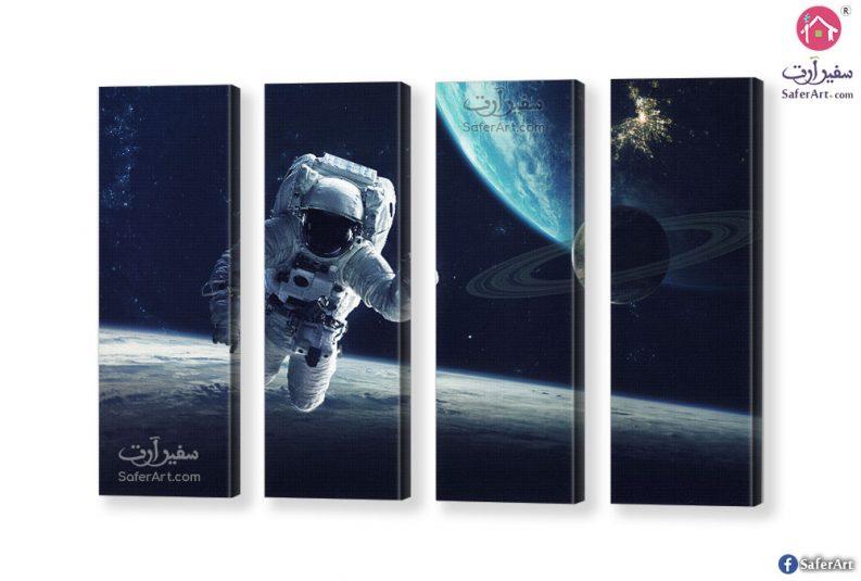 تابلوه مودرن عالم الفضاء الخارجى