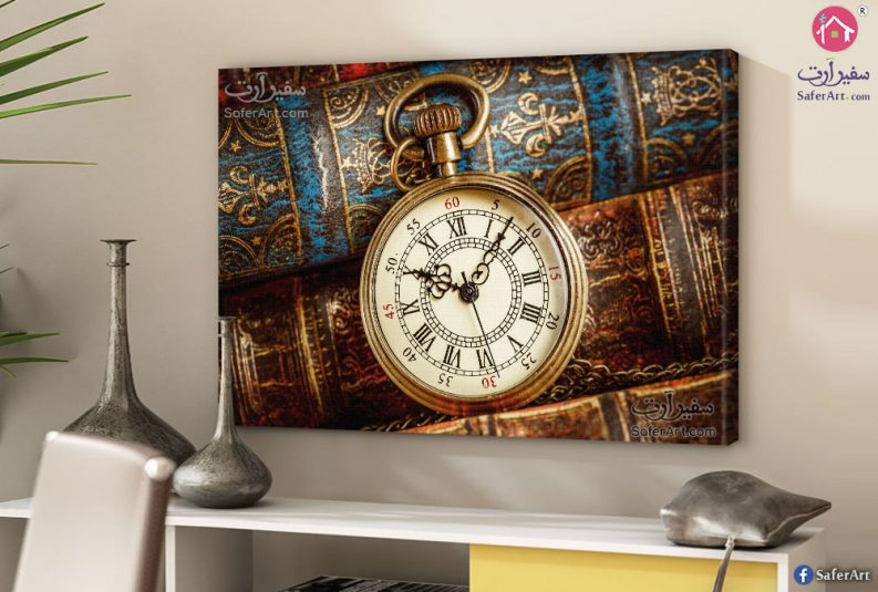 Classical-clock-canvas