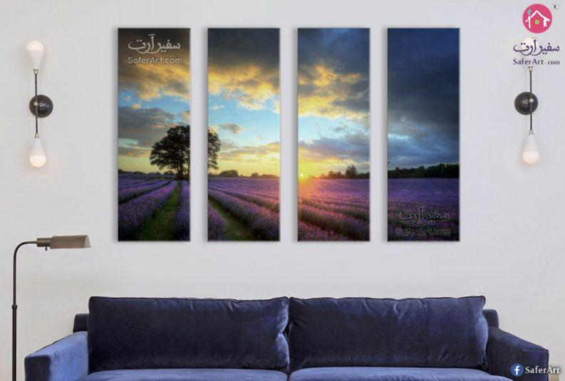Lavender-canvas